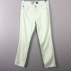 AG Adriano Goldschmied Mint Cigarette Jeans